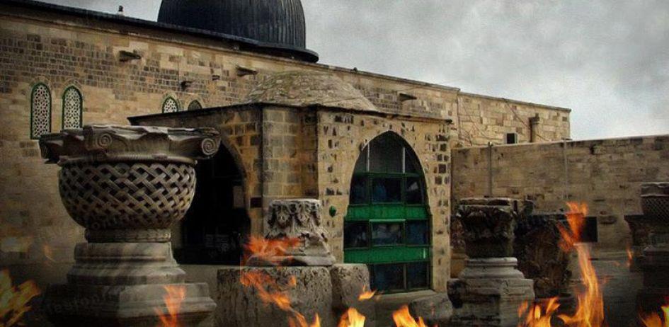 جريمة حرق المسجد الأقصى المبارك