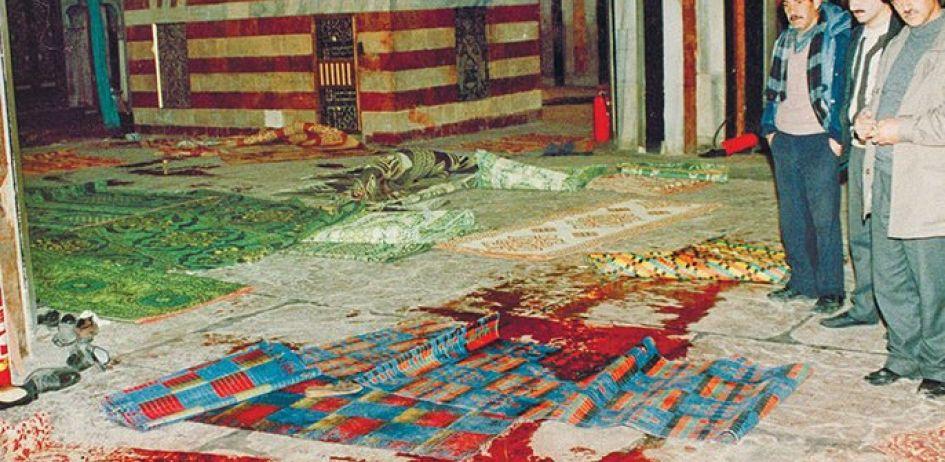 مجزرة الحرم الإبراهيمي.. هكذا قُتلوا أثناء الصلاة .