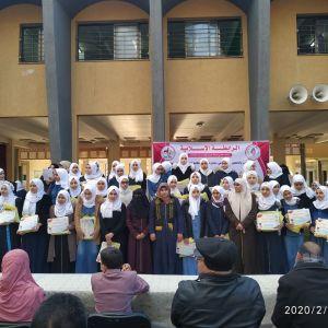 الرابطة الإسلامية تكرم المتفوقات في مدارس محافظة الشمال