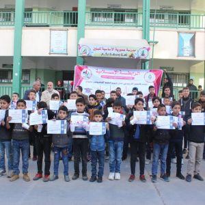 الرابطة الإسلامية تكرم المتفوقين في مدارس محافظة الوسطى