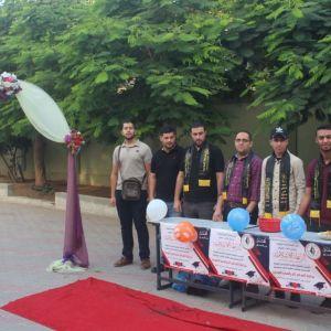 الرابطة الإسلامية تستقبل الطلبة بمناسبة بدء العام الدراسي الجديد في قطاع غزة