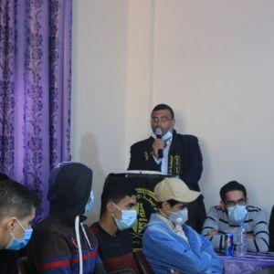 الرابطة الإسلامية تقدم مساعدات نقدية لطلبة الجامعات في قطاع غزة