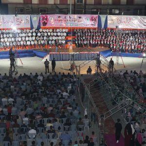 """الرابطة الإسلامية تطلق أولى احتفالات  """"فوج الوحدة والعودة""""في  الوسطى"""