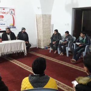 """الرابطة الإسلامية تنظم مسابقة """"حفظ سورة الإسراء"""" بمساجد شرق غزة"""