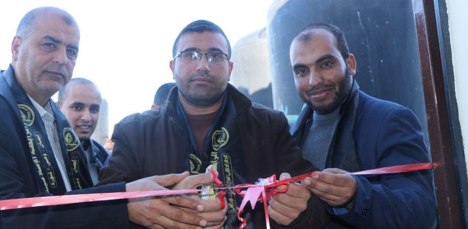 الرابطة الإسلامية تفتتح مكتباً للطالبات بالوسطى.