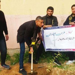 الرابطة الإسلامية تُحيي ذكراها في كلية الزيتونة شمال غزة.