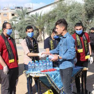 الرابطة الإسلامية تستقبل طلاب الثانوية العامة في محافظة الوسطى