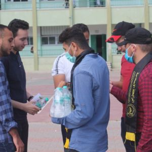 الرابطة الإسلامية تستقبل طلاب الثانوية العامة في محافظة خانيونس