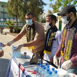 الرابطة الإسلامية تستقبل طلاب الثانوية العامة في محافظة غزة