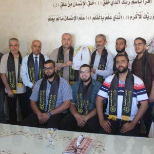 الرابطة الإسلامية تنظم زيارة لمديرية التربية والتعليم بغزة