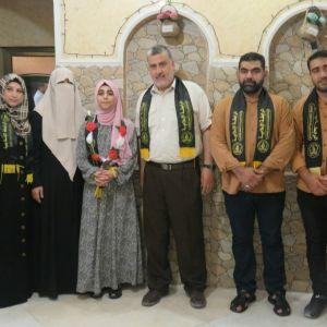 الرابطة الإسلامية تزور الطلبة المتفوقين في الثانوية العامة في رفح