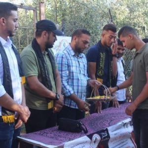 الرابطة الإسلامية تستقبل الطلبة الجدد في كلية الزيتونة بشمال غزة.