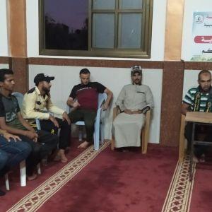 الرابطة الإسلامية تنظم عدة لقاءات دعوية في مساجد الوسطى