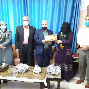 الرابطة الإسلامية تزور مديرية التربية والتعليم  في  رفح.