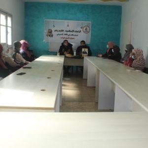 الرابطة الإسلامية إقليم رفح تنظم لقاء تعريفي لطالبات الجامعات.