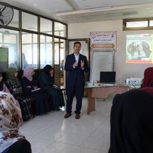 الرابطة الإسلامية تعقد دورة تدريبية للطالبات برفح