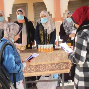 """الرابطة الإسلامية تطلق حملة """"نعود بقوة"""" في جامعات غزة"""