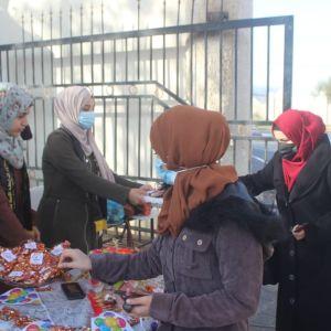 الرابطة الإسلامية تستقبل الطالبات في جامعة الأقصى _إقليم خان يونس