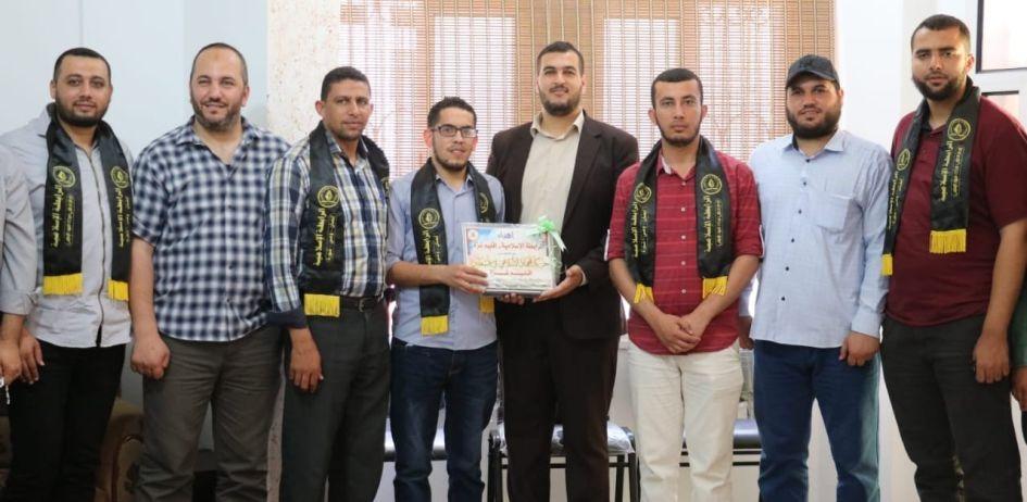 الرابطة الإسلامية تزور قيادة الحركة بمحافظة غزة