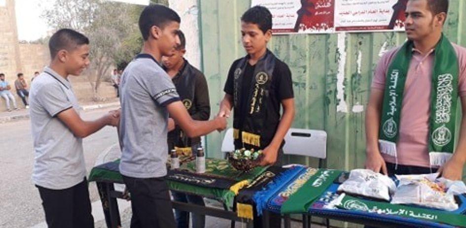 الرابطة الإسلامية تستقبل طلبة المدارس في محافظة خانيونس
