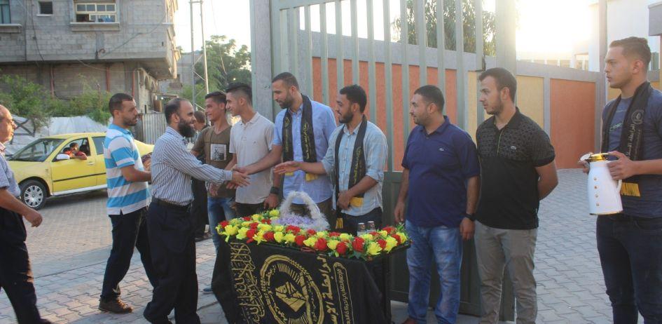الرابطة الإسلامية تستقبل طلبة المدارس في شمال غزة