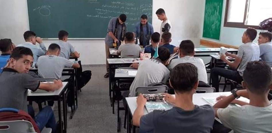 حملة خدماتية أطلقتها الرابطة الإسلامية في مدارس شمال غزة