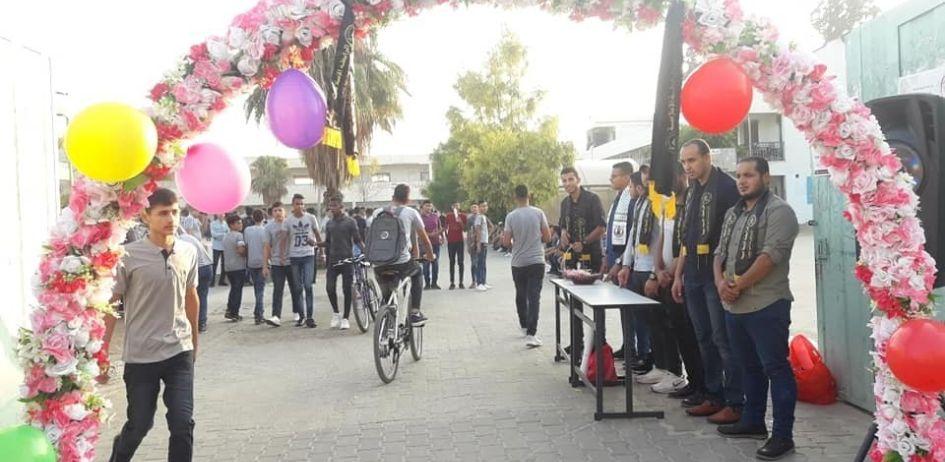 الرابطة الإسلامية تستقبل طلبة المدارس محافظة الوسطى