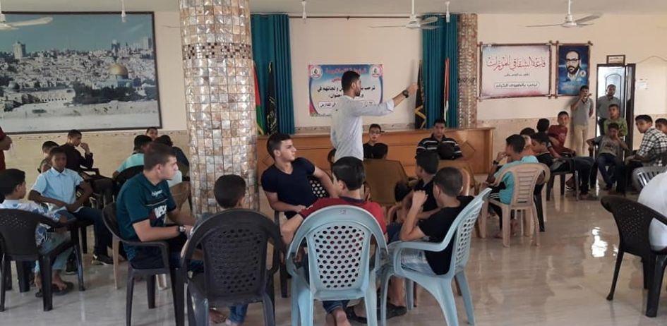 الرابطة الإسلامية تعقد لقاء تدريبي لأمراء المدارس بالوسطى