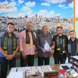 الرابطة الإسلامية تنظم سلسلة زيارات لمدارس رفح