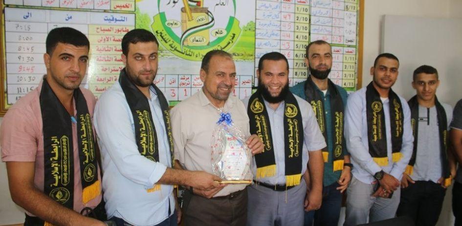 الرابطة الإسلامية تنظم سلسلة زيارات للمدارس بمحافظة خانيونس