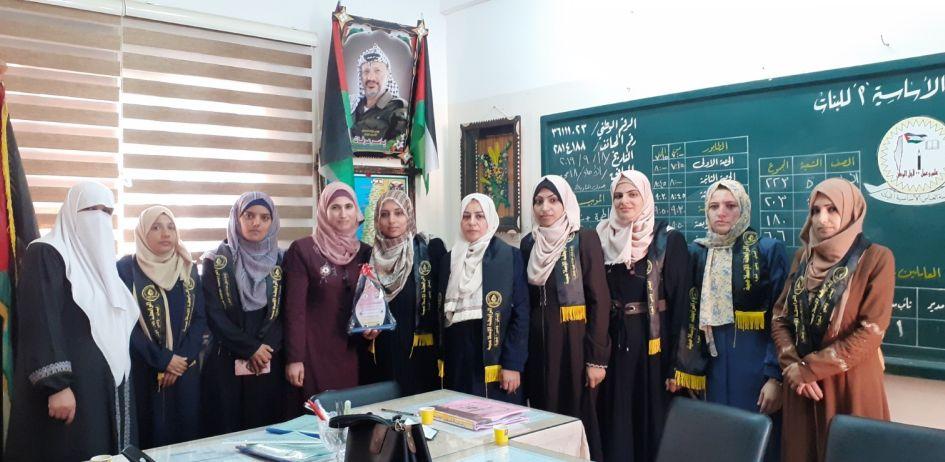 الرابطة الإسلامية تنظم سلسلة زيارات لمدارس الطالبات بمحافظة غزة