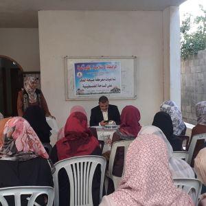 على شرف معركة صيحة الفجر الرابطة الإسلامية تنظم لقاء سياسي في مكتب غزة