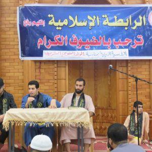 الرابطة الإسلامية تُحيي ذكرى المولد النبوي في مسجد طيبة برفح