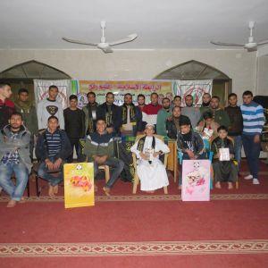 الرابطة الإسلامية تختتم مسابقة مواهبنا هبة من ربنا في محافظة رفح
