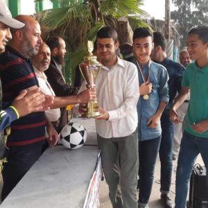 الرابطة الإسلامية ترعى دوري كرة القدم  في خان يونس