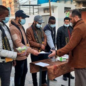 الرابطة الإسلامية  تستقبل الطلبة في مدارس الوسطى