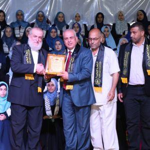 الرابطة الإسلامية تكرم المتفوقين في الثانوية العامة في رفح