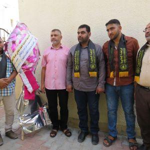 الرابطة الإسلامية تهنئ الطلبة المتفوقين في الثانوية العامة بمحافظة رفح