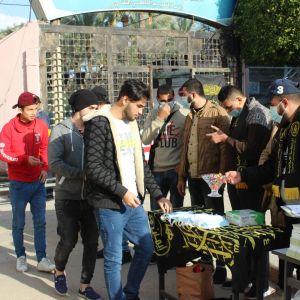 الرابطة الإسلامية إقليم الوسطى تستقبل الطلبة في كلية فلسطين التقنية بدير البلح