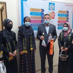 الرابطة الإسلامية تنظم جولة ميدانية  للطالبات في كلية العلوم والتكنولوجيا بخان يونس .
