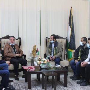 الرابطة الإسلامية تنظم زيارة لجامعة فلسطين بالوسطى