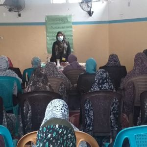 الرابطة الإسلامية تحيي ذكرى الإسراء والمعراج للطالبات في مساجد القطاع