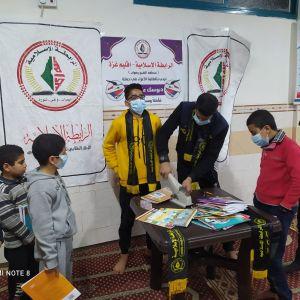 الرابطة الإسلامية مستمرة في حملاتها الخدماتية في مساجد محافظة غزة