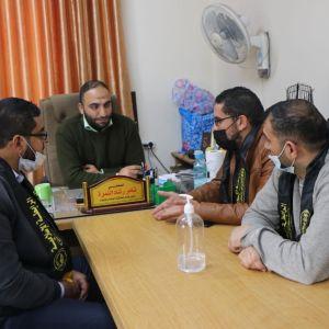 الرابطة الإسلامية تزور مديرية التربية والتعليم غرب غزة