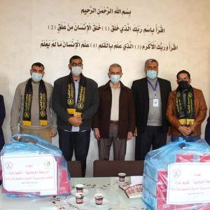 الرابطة الإسلامية تزور مديرية التربية والتعليم شرق غزة.