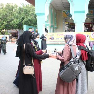 الرابطة الإسلامية تُنظم جولة ميدانية في الجامعة الإسلامية بغزة