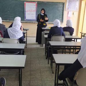 """الرابطة الاسلامية  تنظم ندوة بعنوان """"الحجاب الشرعي""""بخان يونس"""
