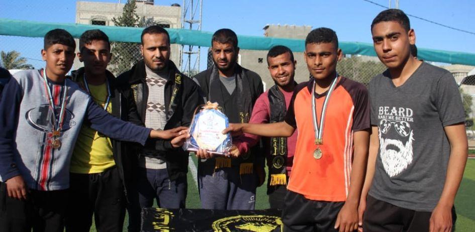 الرابطة الإسلامية تنظم بطولة كرة القدم لطلبة المدارس بالوسطى