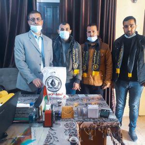 الرابطة الإسلامية تختم زيارات مدراء مدارس شمال غزة