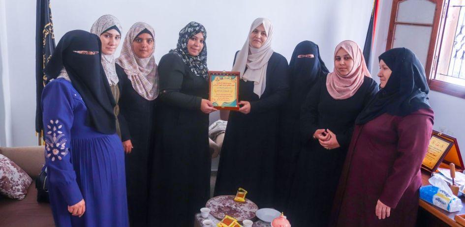 الرابطة الإسلامية تنظم زيارة للأخوات في الإطار النسوي التابع لحركة الجهاد الإسلامي في فلسطين